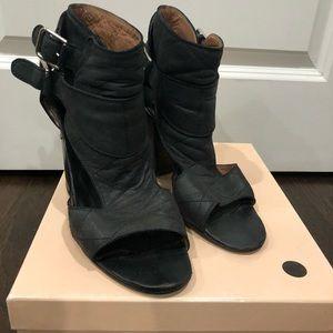 Laurence Dacade Black block heel leather shoe 39